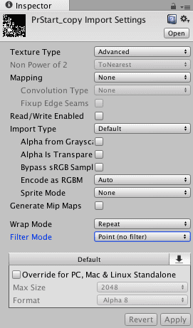 Texture Import Settings